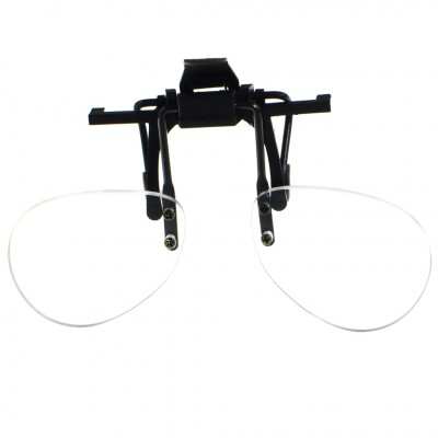 Optelec +4.00D PowerClip Bottom Half Frame Clip-On Magnifier