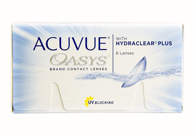 Acuvue Oasys with Hydraclear Plus 24 pk
