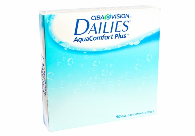 Dailies AquaComfort Plus 90 pack   by CIBA Vision