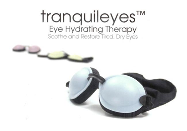 TranquilEyes Eye Hydrating Goggles with Beads